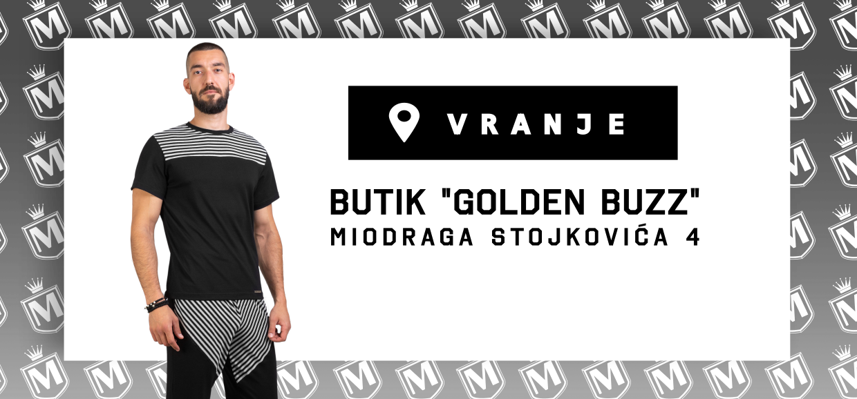 Manor underwear Golden Buzz Vranje