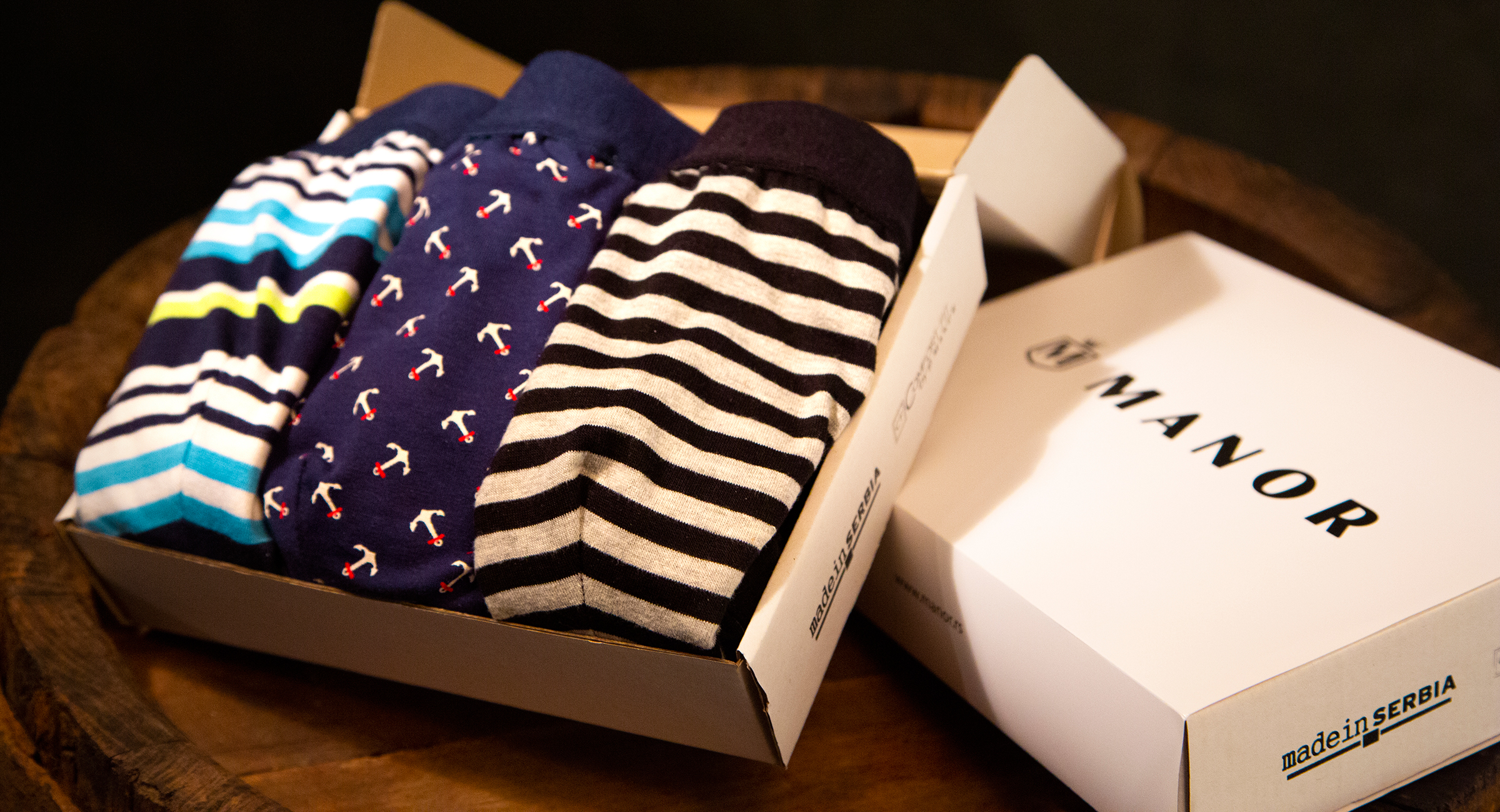 Manor underwear Gift box