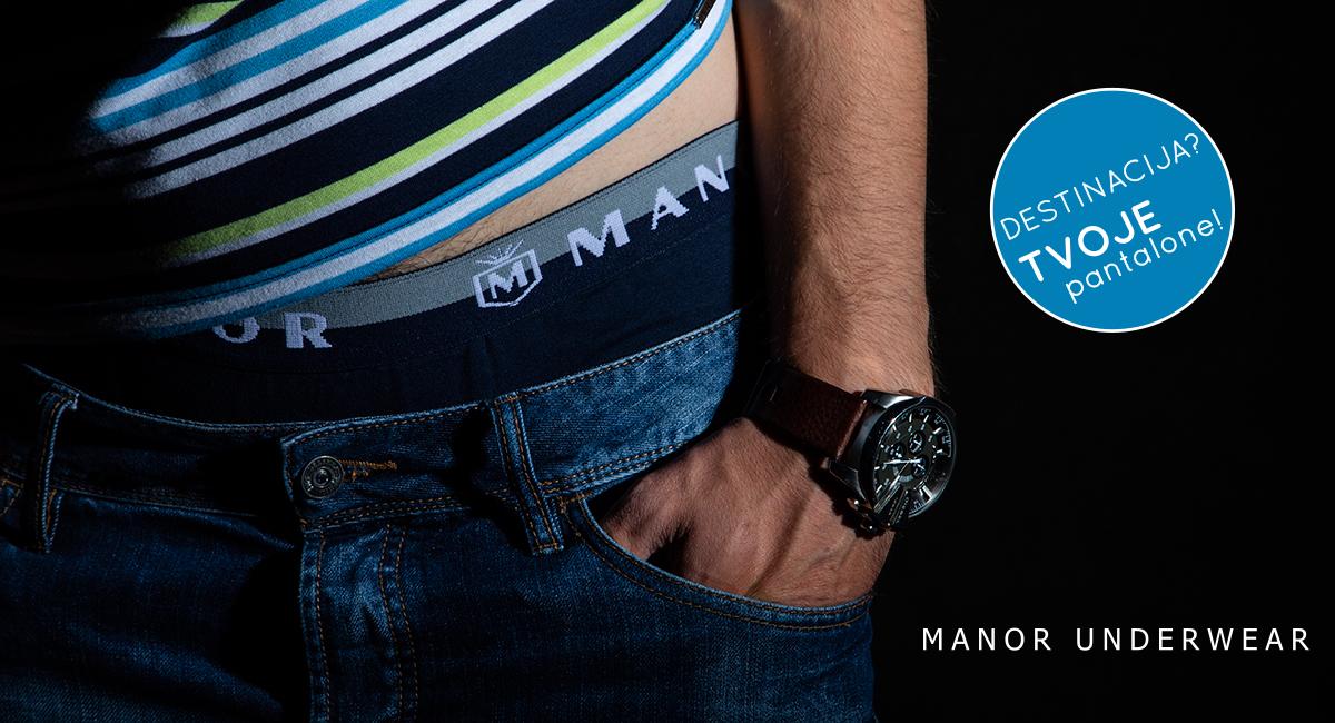 Manor underwear Destinacija muške bokserice