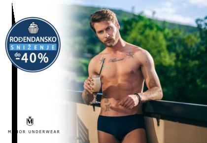 Manor underwear Rodjendanski popust - muške bokserice slip