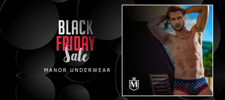 Manor underwear muški slip - Black friday