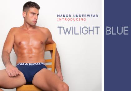 Manor underwear Twilight blue muški slip
