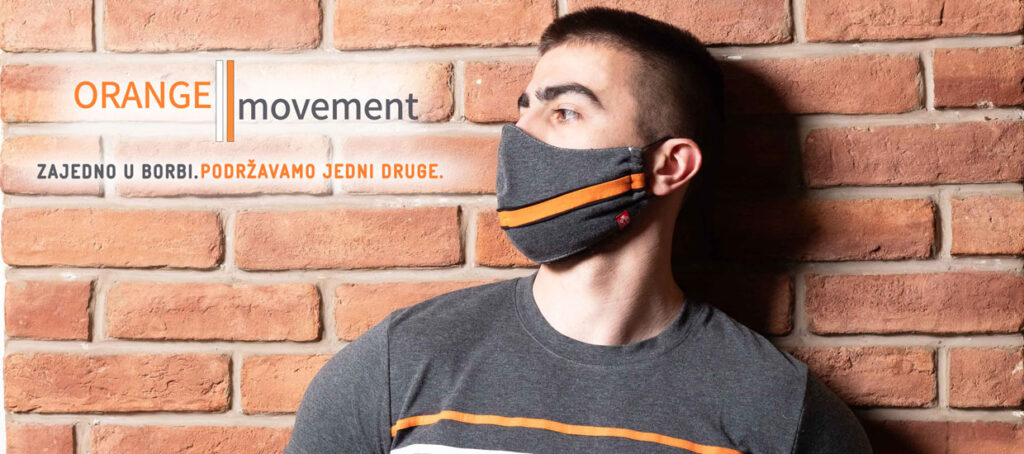 Manor underwear Orange movement muska majica