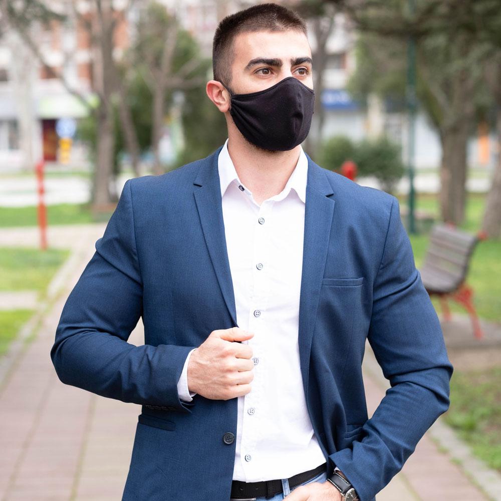 Manor underwear Crna maska