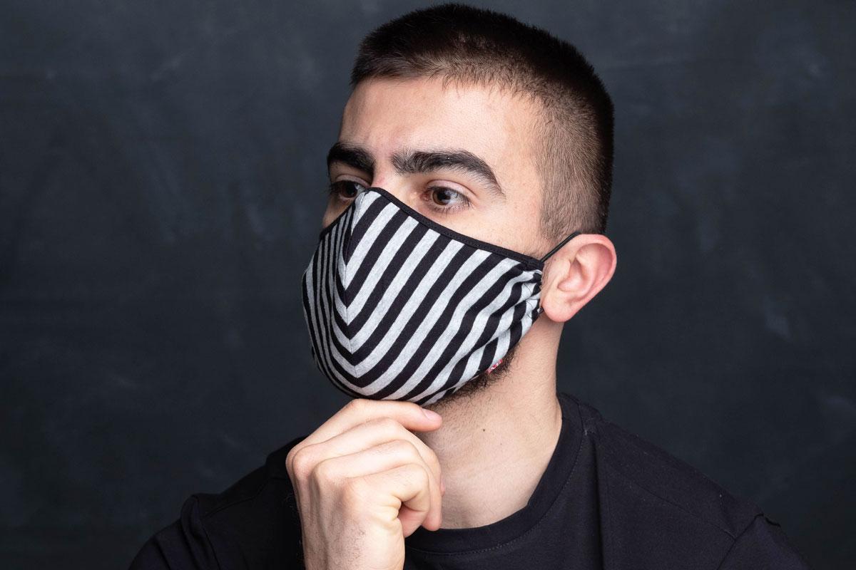 Manor underwear stripes maska