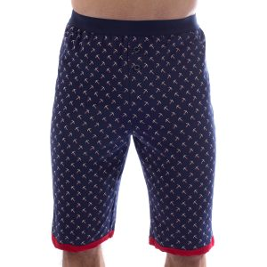 Manor underwear Anchor print bermude 01