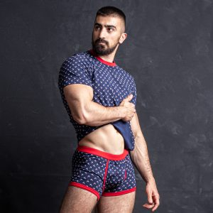 Manor underwear Anchor majica 02