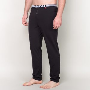 Manor underwear Basic crna pidžama 01