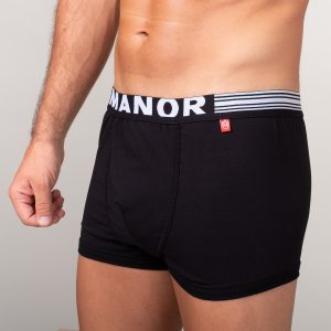 Manor underwear Basic crne bokserice 02