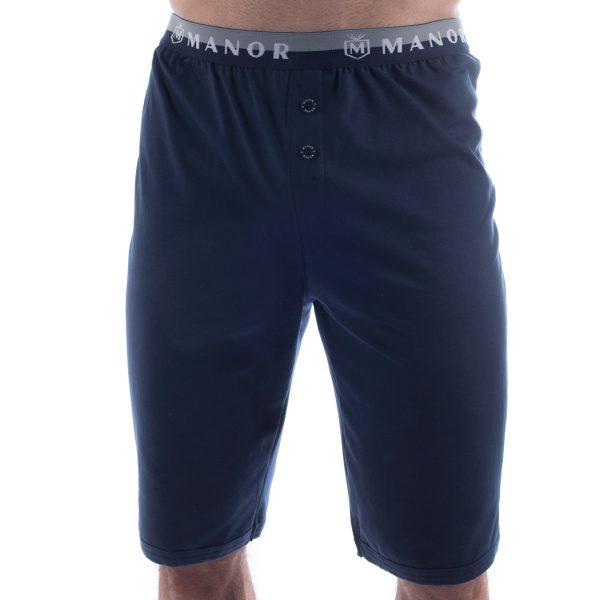 Manor underwear Basic tamno plave bermude 01