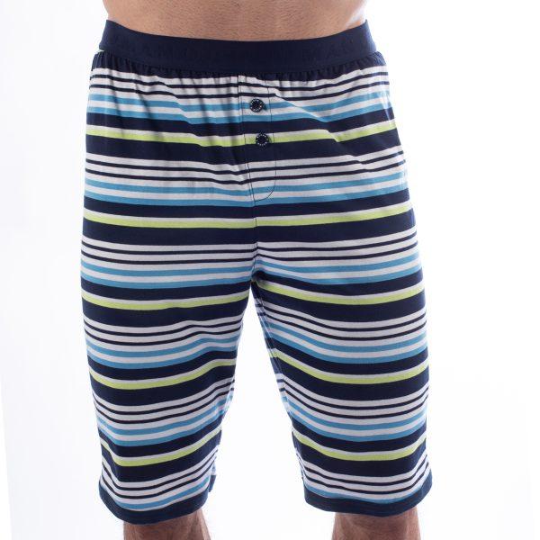 Manor underwear Stripes plave bermude 01