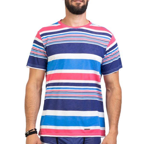 Manor underwear Summer stripes majica 02