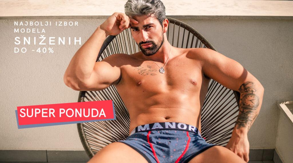 Manor underwear muški donji veš Super ponuda