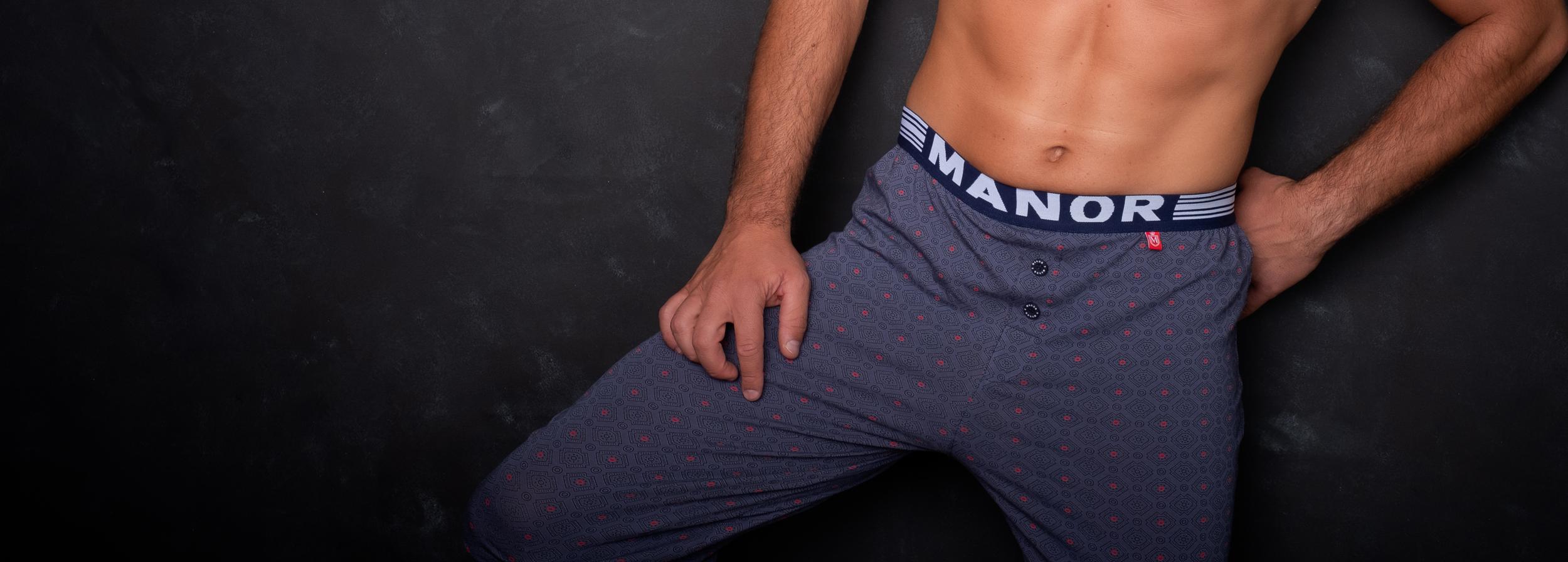 Manor underwear Pidžame naslovna