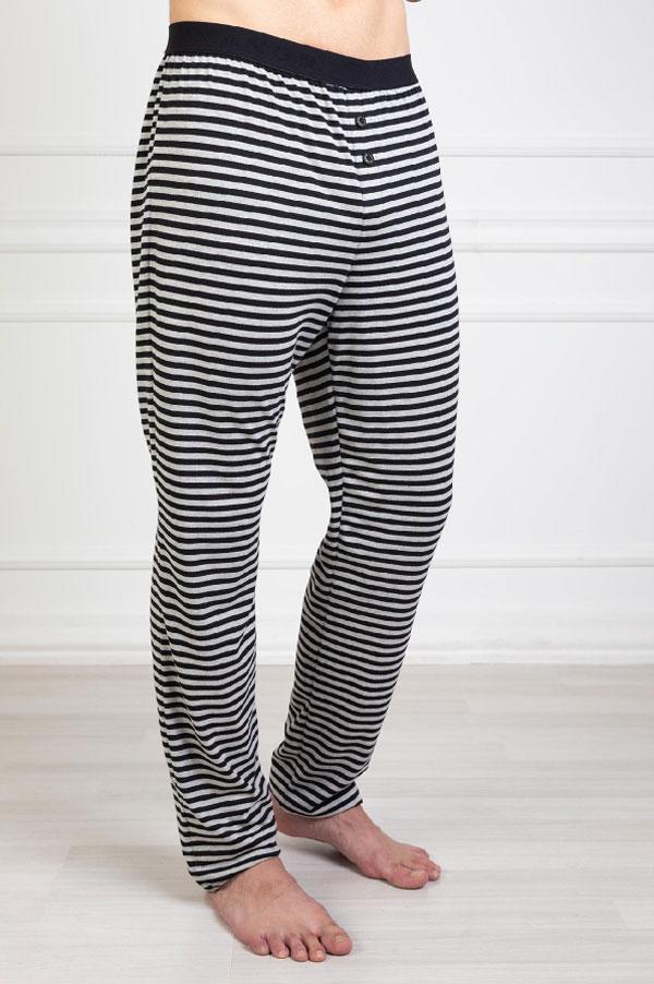 Stripes crna muška pidžama 2
