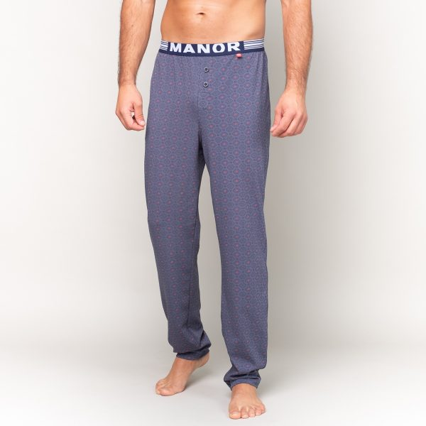 Manor underwear Cubes VS Dots muška pidžama sa dezenom
