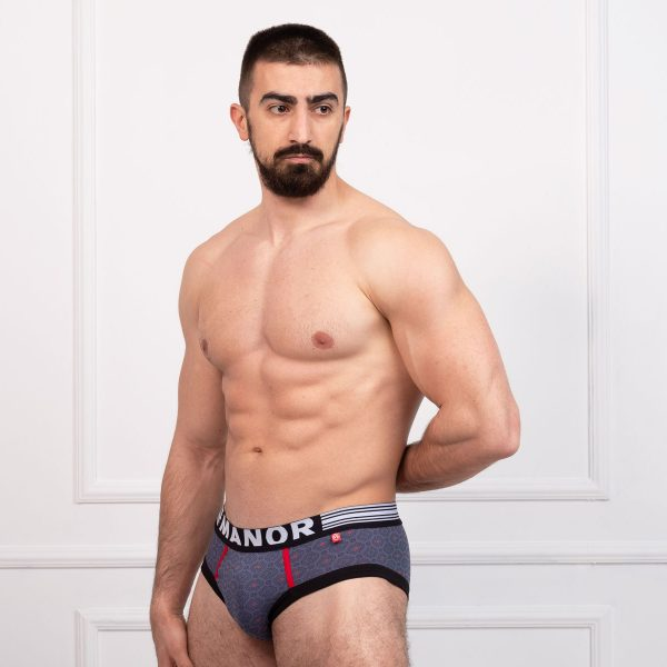 Manor underwear Cubes VS Dots muški slip sa dezenom