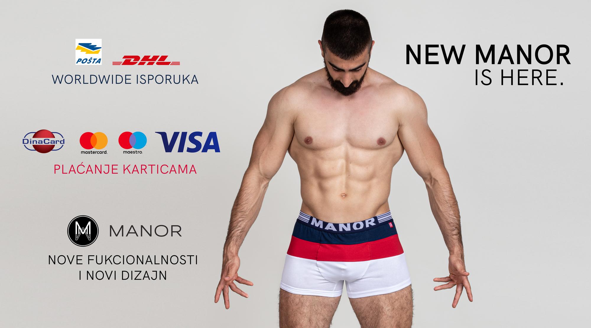 Manor underwear Novi web shop