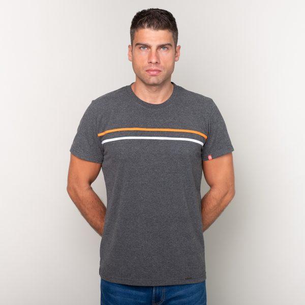 Manor underwear Orange movement siva muška majica 01