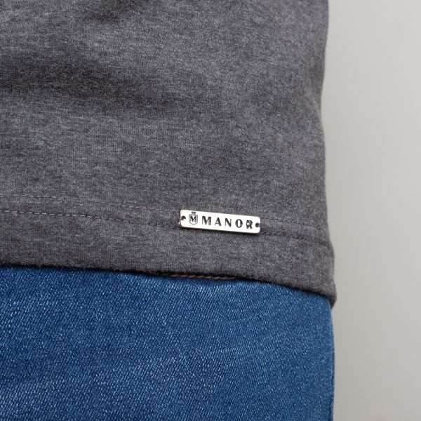 Manor underwear Orange movement siva muška majica 03