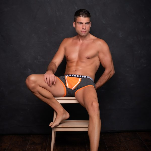 Manor underwear Orange movement sive bokserice 04