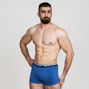 Manor underwear RE:Designed svetlo plave bokserice 01