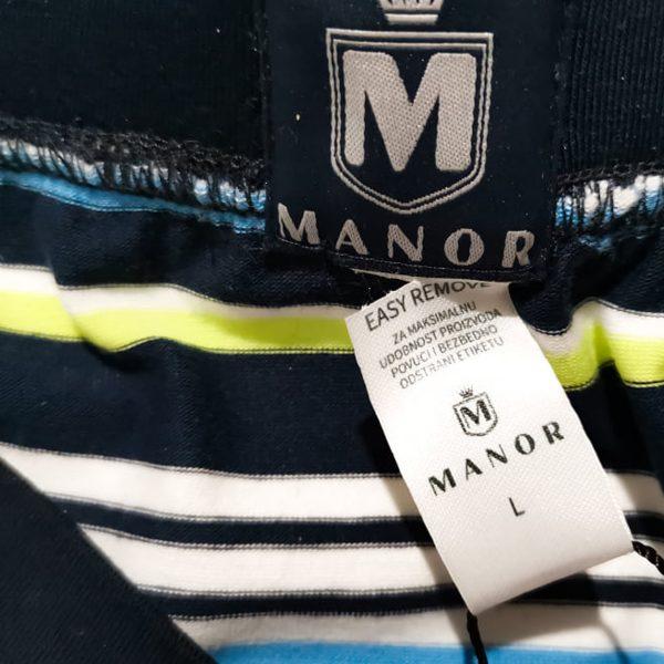 Manor underwear Stripes tamno plave bokserice 04