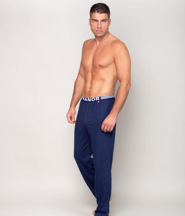 Manor underwear Twilight blue plava pidžama 03