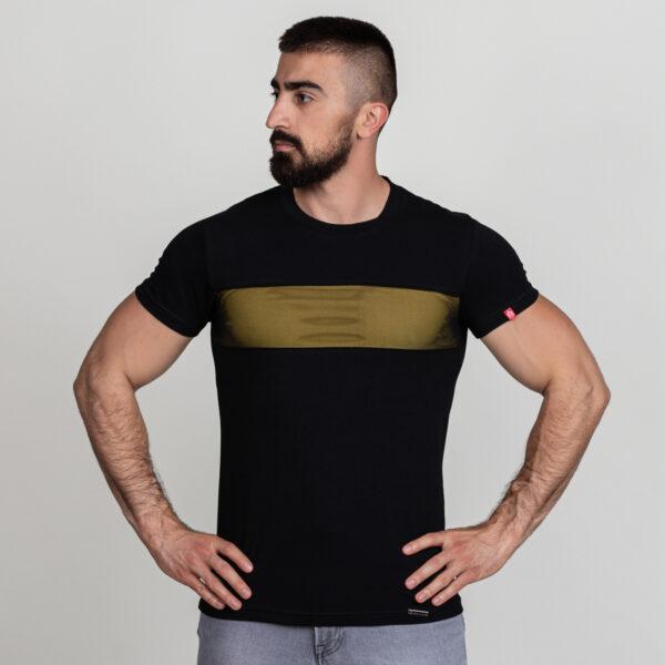 Manor underwear Black optimist crno žuta majica 1