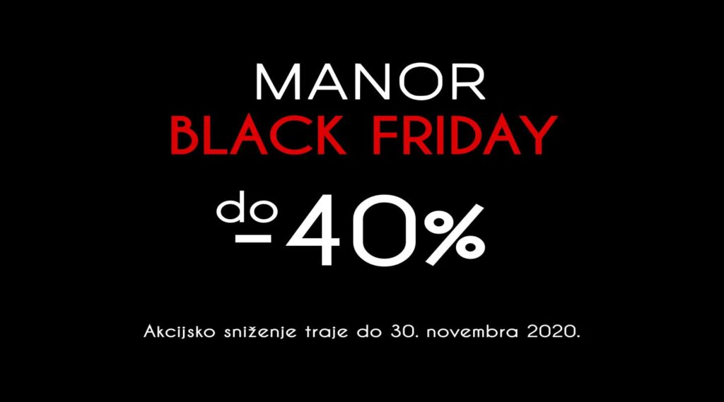 Black friday sniženje 2020 Manor underwear