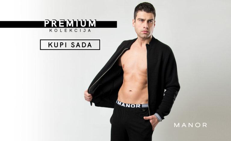 Manor underwear Premium kolekcija muška dukserica