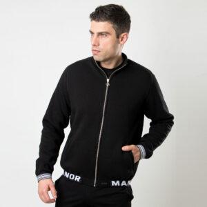 Manor underwear Premium crna muška duskerica 1