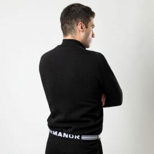 Manor underwear Premium crna muška duskerica 2