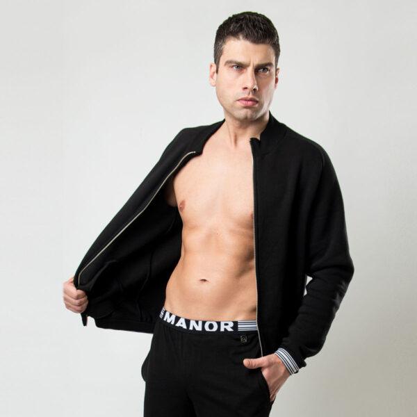 Manor underwear Premium crna muška duskerica 4