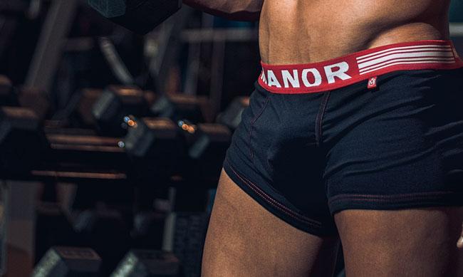 Manor underwear crne bokserice Underwear