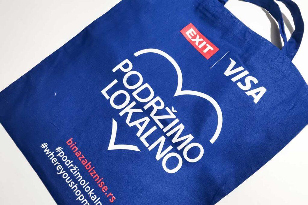 Poklon uz kupovinu - Manor underwear Exit Visa torba
