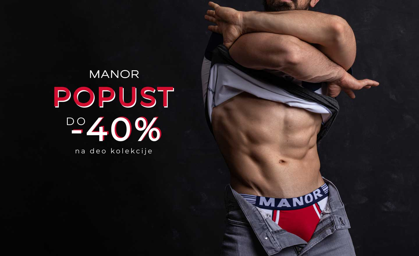 Manor underwear donji veš akcija popust do 40 posto