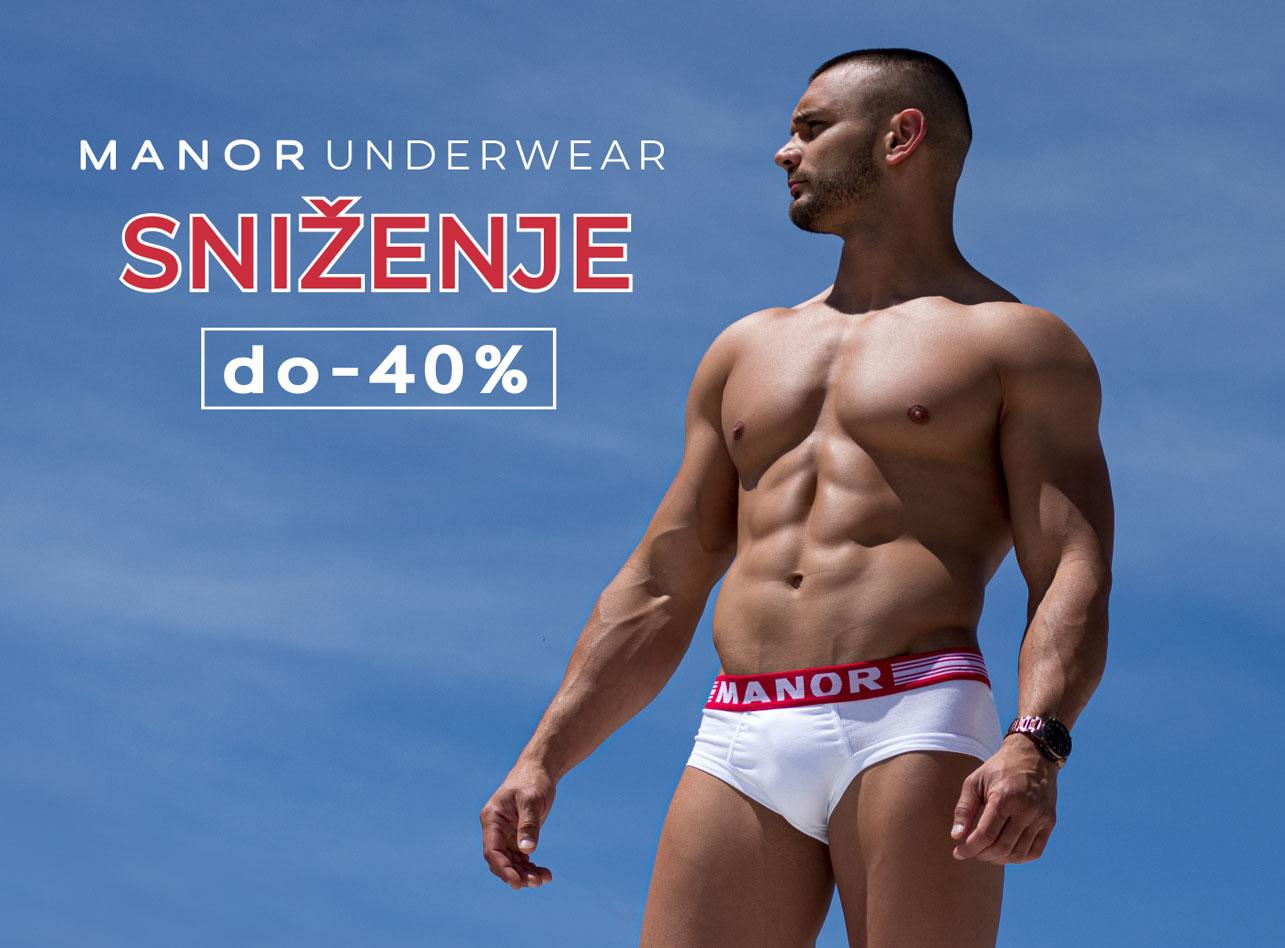 Manor underwear beli slip donji ves Akcija mobile